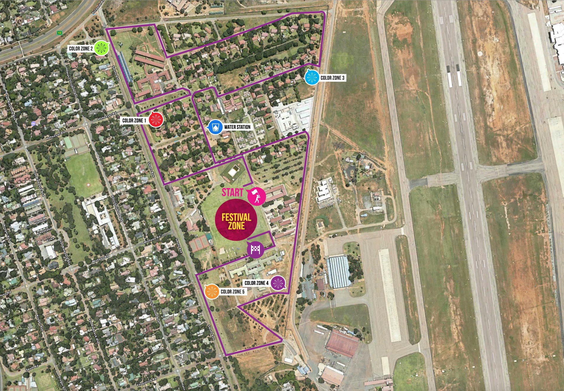 Best Image Of Color Run Hershey Coloring Steps Color Run Map Us